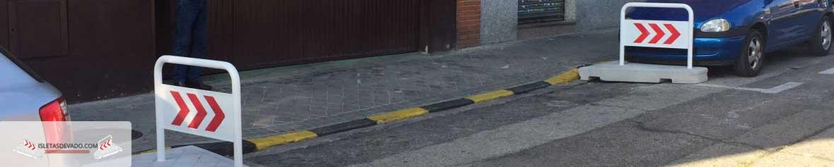 isletas de hormigon para vados en Lugo