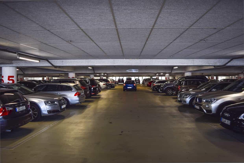 Garaje o parking comunitario