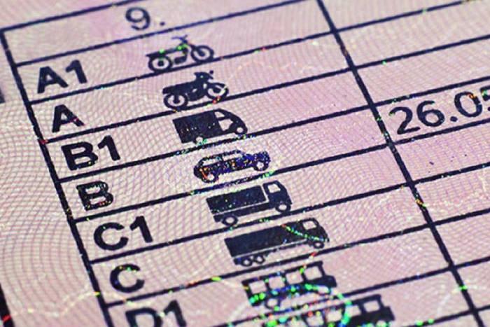 Carnet de conducir para sacarse el CAP o certificado de aptitud profesional