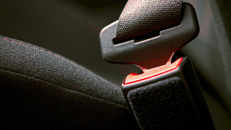 Cinturón De Seguridad Colocado Correctamente