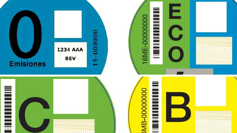 Etiquetas Medioambientales De Coche Establecidas Por La DGT