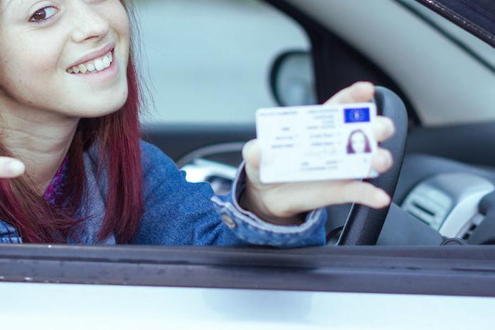 Conductora que ha recuperado los puntos del carnet de conducir