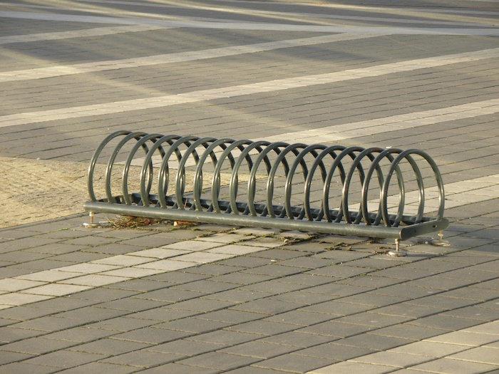 Mobiliario urbano para bicicletas