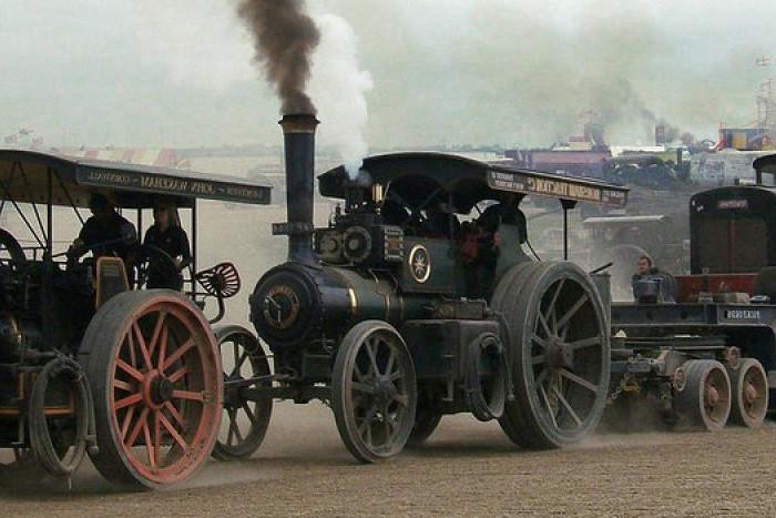 Primeros coches a vapor